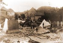 Hochwasser in Langenstein